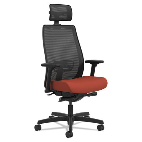 HON Endorse Mesh Mid-Back Task Chair in Poppy HLWM.Y2.A.H.IM.CU42.SB.N; Image 2