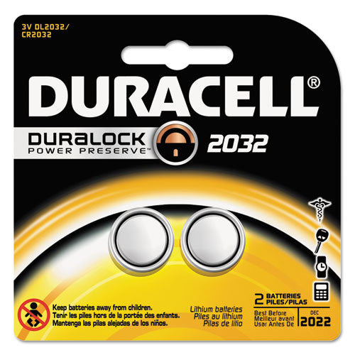 Duracell DL2032B2PK Coin Cell General Purpose Battery ; (041333663883)