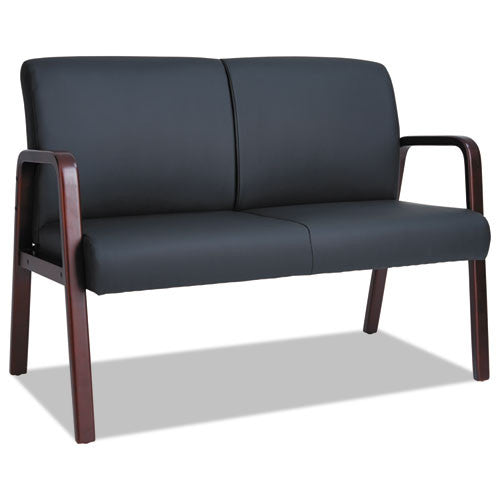 Alera Reception Lounge WL Series Loveseat ALERL2219M,  (UPC:042167392505)