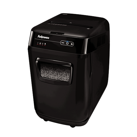 Fellowes AutoMax™ 200M Auto Feed Shredder ; UPC 043859726615