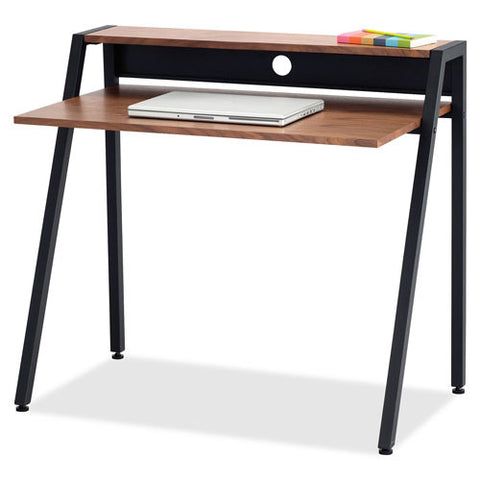 Safco Studio Writing Desks ; Wooden Venner/Black frame ; (073555195118)