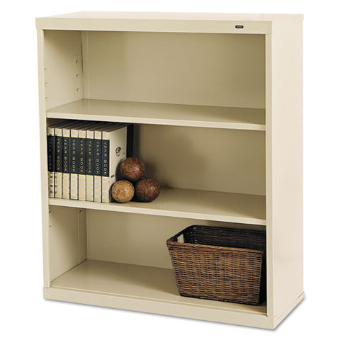 Tennsco Welded Bookcase TNNB42PY, Putty (UPC:447671100583)