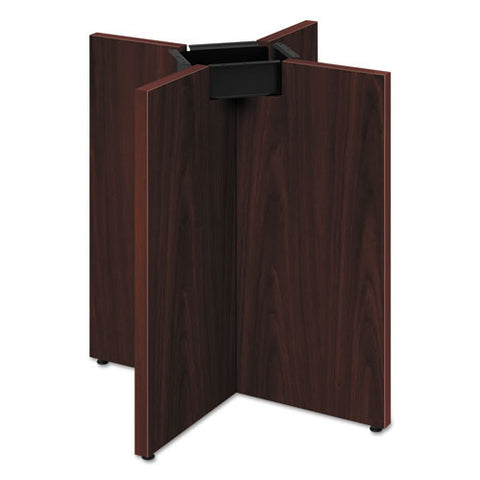HON Preside Laminate Conference Table X-Base ; Color: Mahogany; UPC: 089192208500