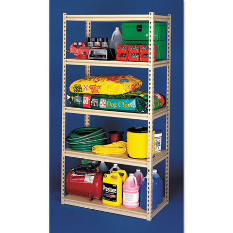 Tennsco Stur-D-Stor Steel Shelving TNNLSS361872, Green (UPC:044767117748)
