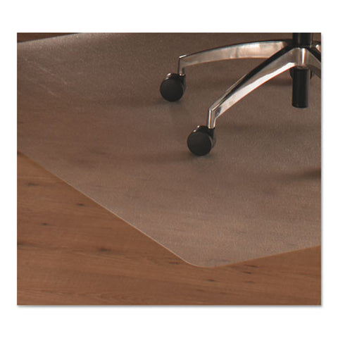 Floortex Hardwood Floor Chair Mat FLR128919ER, Clear (UPC:874951001870)