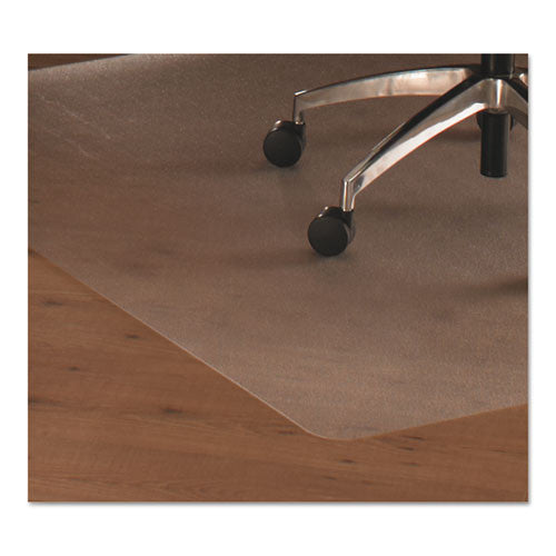 Floortex Hardwood Contoured Chair Mat FLR129919SR, Clear (UPC:874951001740)