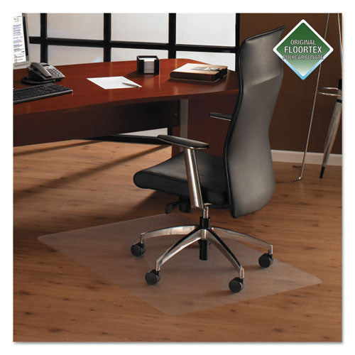 Floortex Rectangular Chair Mat FLR1220019ER, Clear (UPC:874951002273)