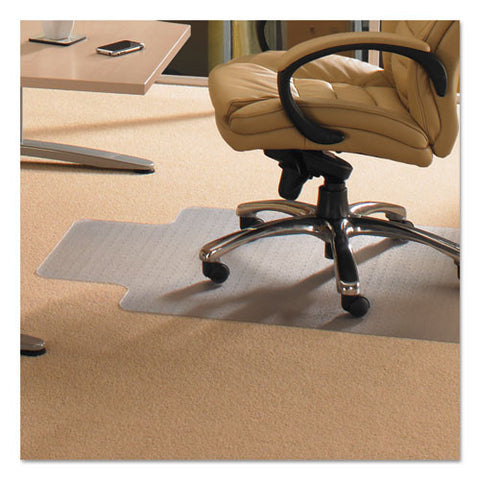 Floortex Evolutionmat Chairmat FLRECO113648LP, Green (UPC:874951004185)