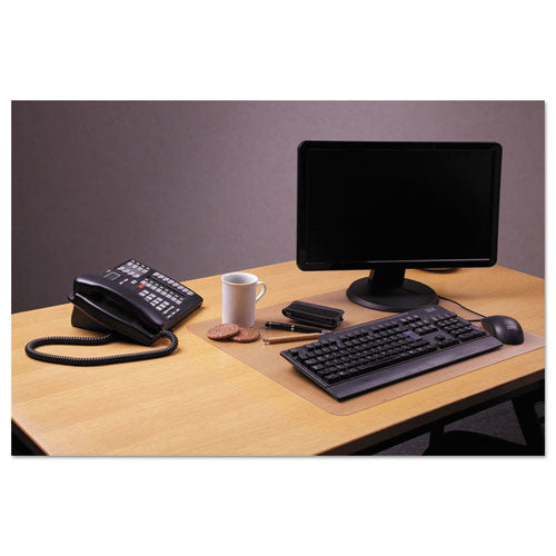 Floortex Desk Pad FLRFPDE1924RA, Clear (UPC:874951003591)