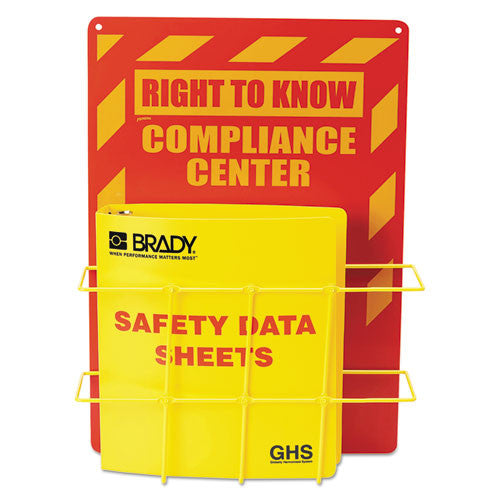 LabelMaster HCS/GHS SDS Compliance Center LMTH121370,  (UPC:754473707354)