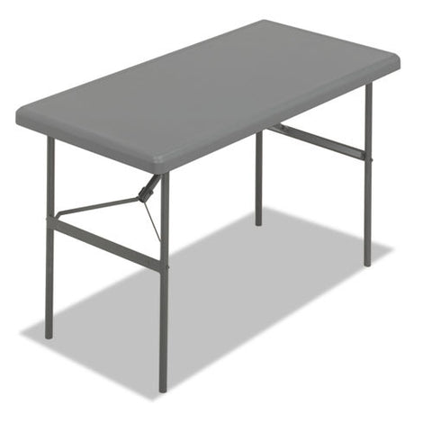 Iceberg IndestrucTable TOO 1200 Series Folding Table ICE65207, Gray (UPC:674785652077)