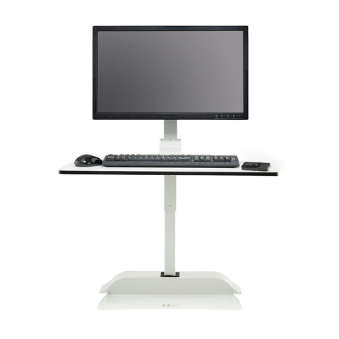 Safco Products Soar by Safco Electric Desktop Sit/Stand – Single Arm 2192WH(Image 5)