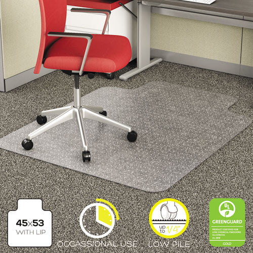 Deflecto EconoMat Chair Mat DEFCM11232, Clear (UPC:079916060019)