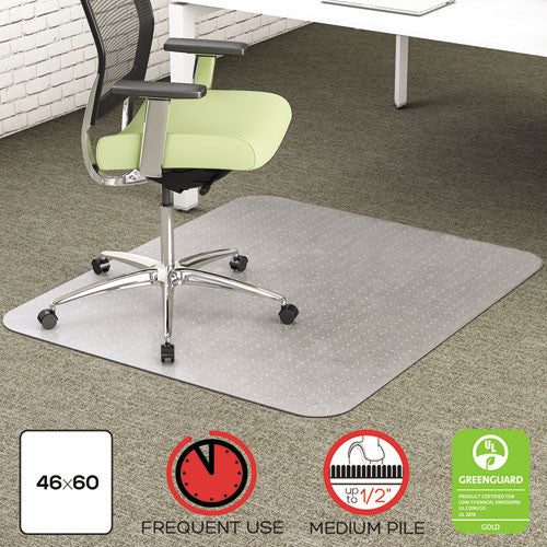 Deflecto EnvironMat Chair Mat DEFCM1K442FPET, Clear (UPC:079916027227)