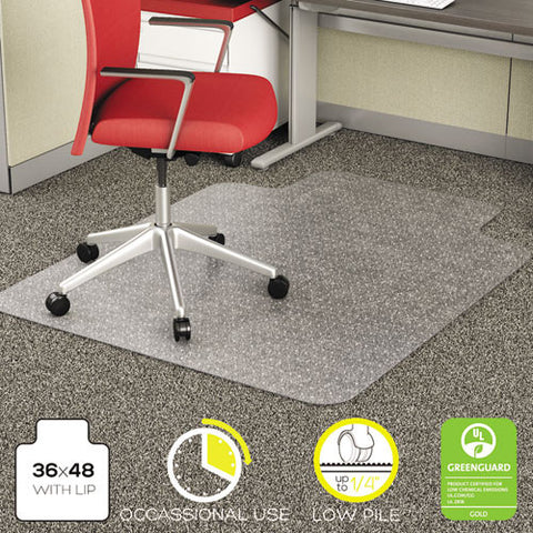 Deflecto EconoMat Chair Mat DEFCM11112, Clear (UPC:079916060002)
