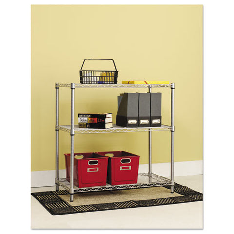 Alera Light-Duty Residential Wire Shelving Kit ALESW833614SR,  (UPC:042167923570)