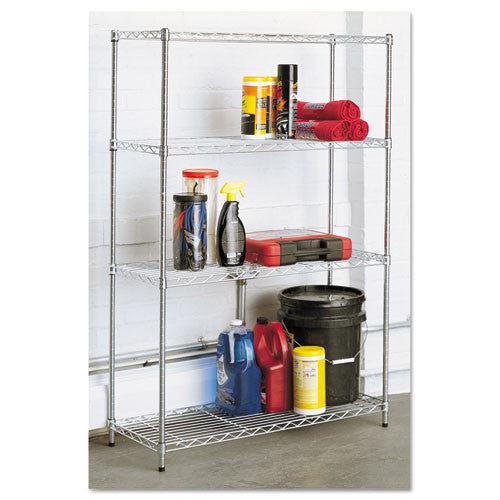 Alera Light-Duty Residential Wire Shelving Kit ALESW843614SR,  (UPC:042167923587)