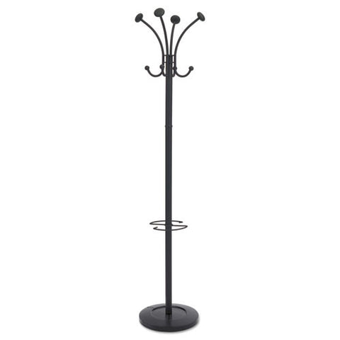 Alba Four Double Peg Coat Stand ; (129710011790)