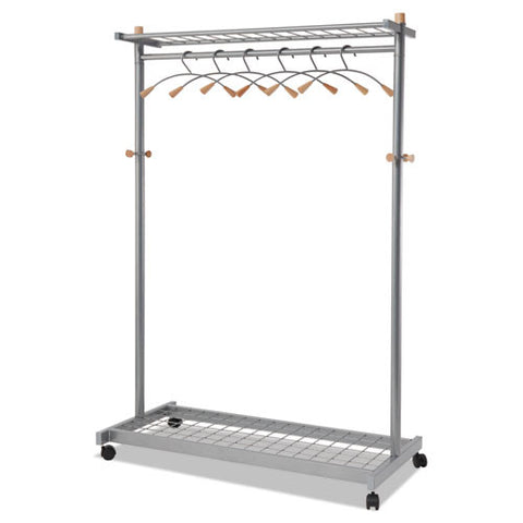 Alba Practical Chrome Coat Rack ; (890336001150)