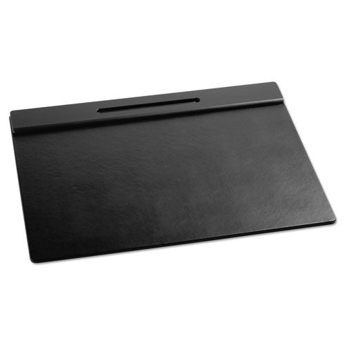 Sanford Wood Tones Desk Pad ROL62540, Black (UPC:030402625402)