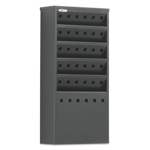 Safco Display Rack SAF4310BL, Black (UPC:073555431025)