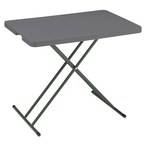 Iceberg IndestrucTable TOO Personal Folding Table ICE65491, Black (UPC:674785654910)