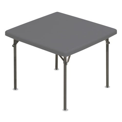 Iceberg IndestrucTable TOO Square Folding Table ICE65277,  (UPC:674785652770)
