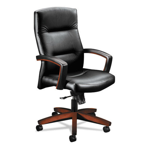 HON 5000 Series Park Avenue Collection Executive High-Back Knee Tilt Chair HON5001COEE11,  (UPC:035349244983)
