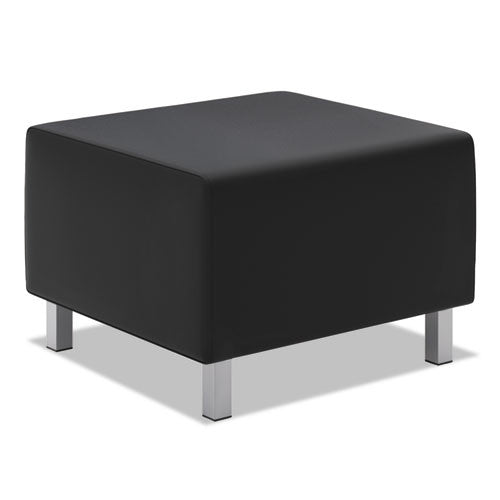basyx by HON HVL862 Modular Lounge Ottoman in Black ; UPC: 035349529424