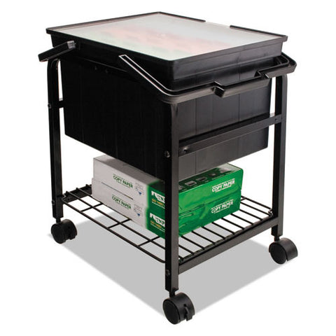 Advantus Heavy-Duty File Shuttle AVTFS2BHD, Black (UPC:040861402209)