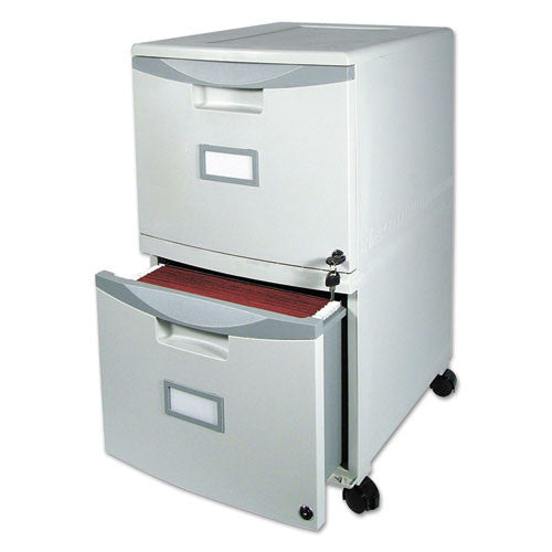 Storex Mobile File Drawer STX61301B01C, Gray (UPC:685442613010)