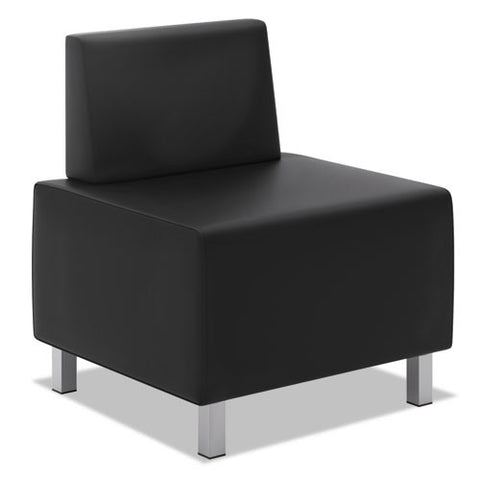 basyx by HON HVL864 Modular Lounge Chair in Black ; UPC: 035349529691