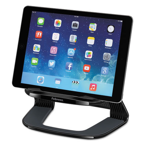 Fellowes I-Spire Series Tablet Riser in Black ; UPC: 043859697397
