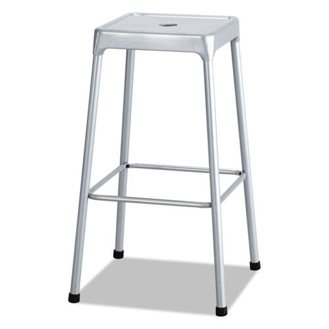 Safco Bar-Height Steel Stool SAF6606SL,  (UPC:073555660609)