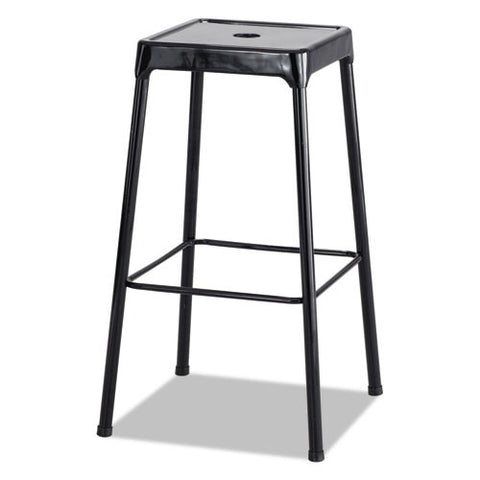Safco Bar-Height Steel Stool SAF6606BL,  (UPC:073555660623)