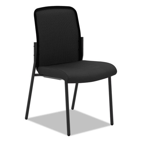 basyx by HON HVL508 Mesh Back Stacking Multi-Purpose Chair in Black ; UPC: 035349528670