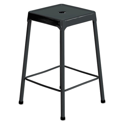 Safco Counter-Height Steel Stool SAF6605BL,  (UPC:073555660524)