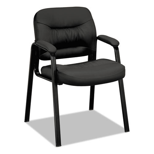 basyx by HON HVL643 Guest Chair in Black ; UPC: 888531418286