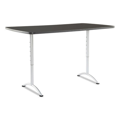 Iceberg Utility Table ICE69327, Gray (UPC:674785693278)