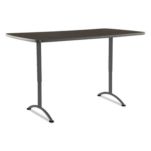 Iceberg Arc Utility Table ICE69324, Walnut (UPC:674785693247)