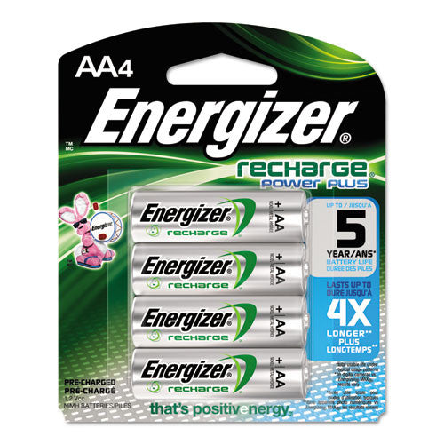 Energizer AA NiMH Rechargeable Battery ; (039800016362)