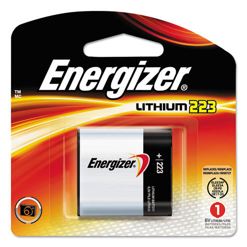Energizer e2 EL223APBP Lithium Photo Battery Pack ; (039800039828)