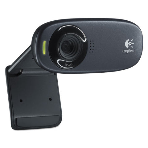 Logitech C310 Webcam - Black - USB 2.0 - 1 Pack(s) - 1280 x 720 Video LOG960000585 ; Image 1
