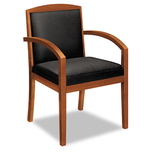 basyx by HON HVL853 Guest Chair BSXVL853HSP11, Black (UPC:752856688030)