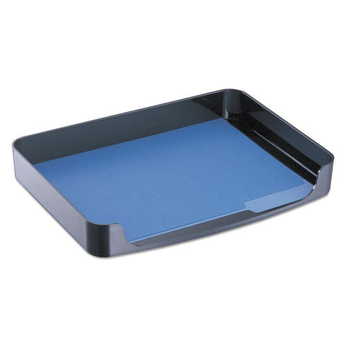 Officemate Letter Size Side Loading Tray OIC22202, Black (UPC:042491222028)