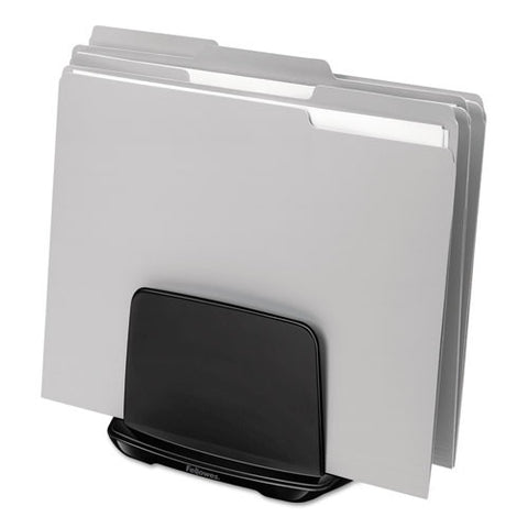 Fellowes I-Spire Series File Station shown with files ; UPC: 043859697472