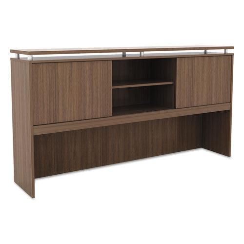 Alera Sedina Series Hutch With Sliding Doors ; UPC: 42167304164