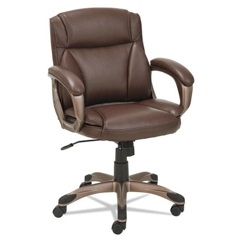 Alera Veon Series Low-Back Leather Task Chair W/coil Spring Cushion ; UPC: 42167392765