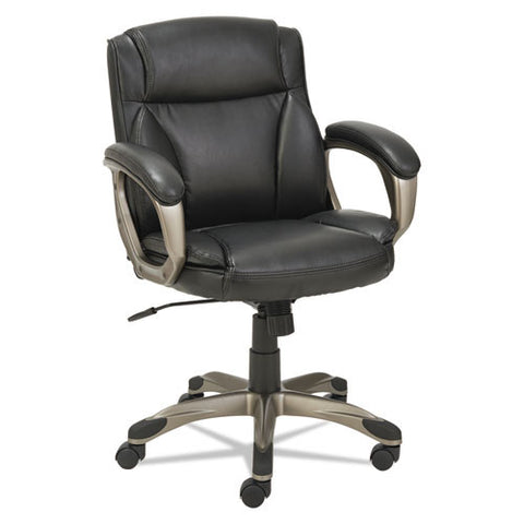 Alera Veon Series Low-Back Leather Task Chair W/coil Spring Cushioning ; UPC: 42167392758