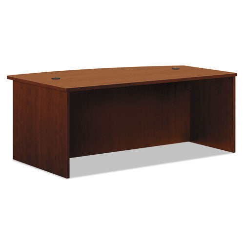 basyx by HON BL Series Desk Shell in Medium Cherry ; UPC: 089191951155
